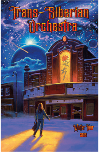 Trans-Siberian Orchestra 2016 Program Book - EAST, Greg Hildebrandt