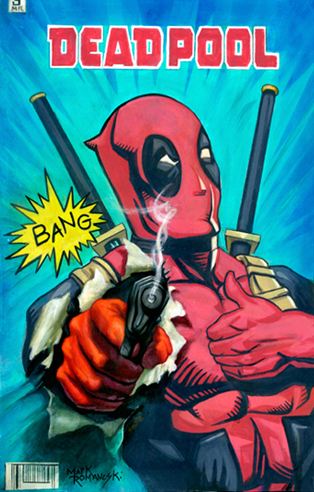 Deadpool , Mark Romanoski