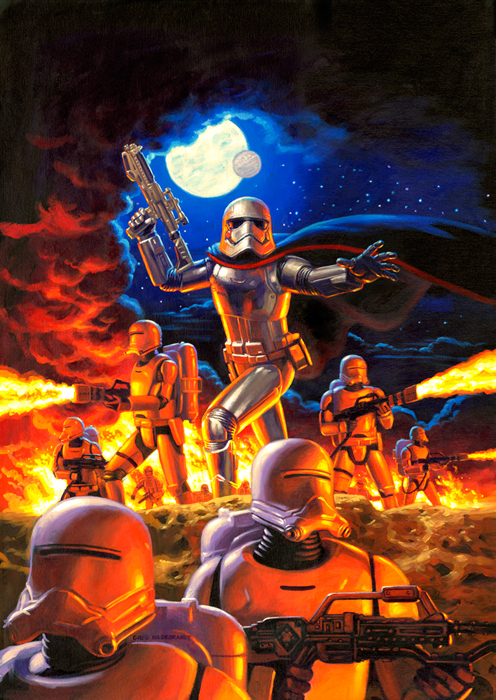Captain Phasma - Cover, Greg Hildebrandt