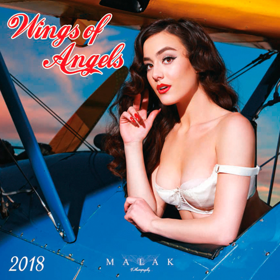 Wings of Angels 2018 Pinup Calendar, Michael Malak