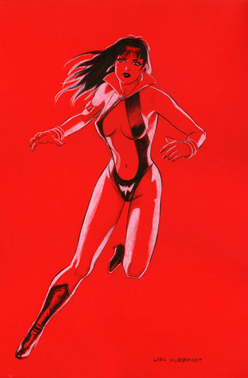 Vampirella - Red Board, Greg Hildebrandt