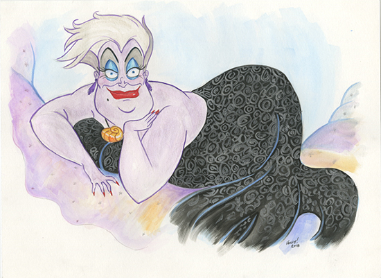 The Beauty of Evil: Ursula, Holly Golightly