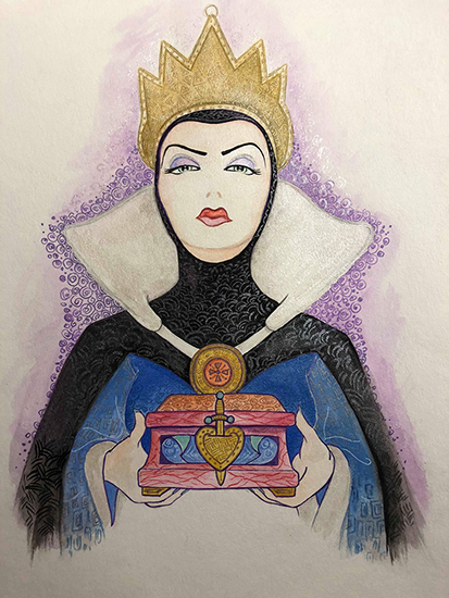 The Beauty of Evil: Evil Queen, Holly Golightly