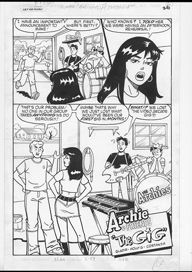 Archie and Friends #60 Pg26, Holly Golightly