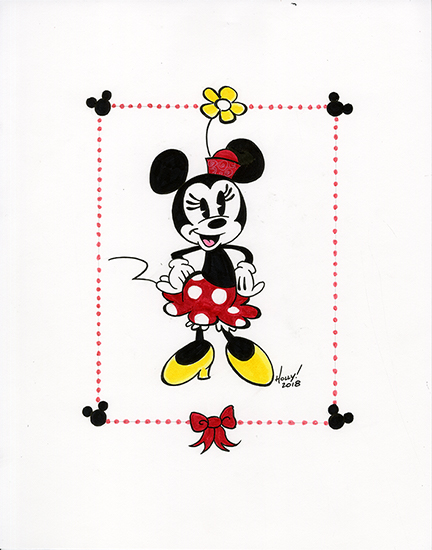 Minnie Mouse, Holly Golightly