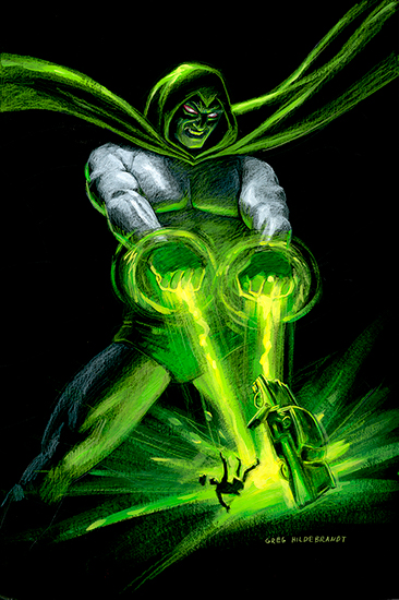 The Spectre - Black Board, Greg Hildebrandt