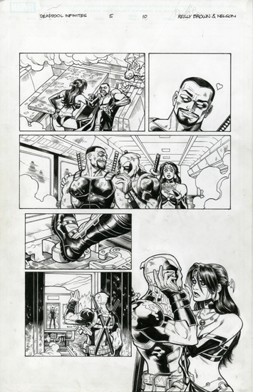 Deadpool - The Gauntlet Issue: 5 Page: 10, Nelson DeCastro