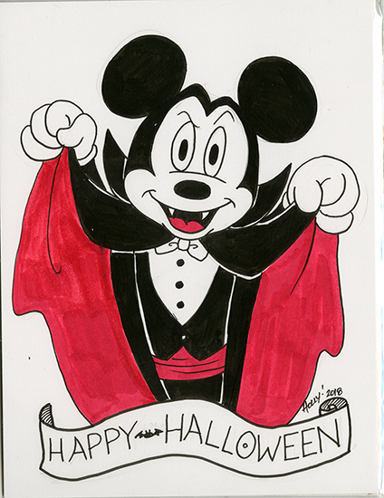 Halloween Mickey, Holly Golightly