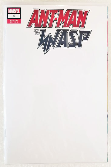 Ant-Man and the Wasp Comic Sketch Cover - COMMISSION, Greg Hildebrandt