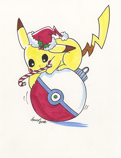 Holiday Pikachu, Holly Golightly