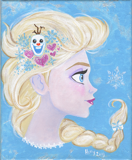 Elsa's Snowflake , Holly Golightly