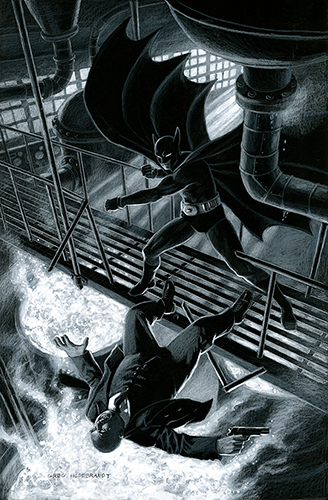 Batman 80th Birthday, Greg Hildebrandt