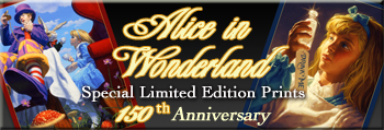 Alice in Wonderland 150th Anniversary Limited Edition Prints | Greg Hildebrandt